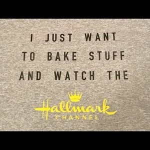 Tops - Hallmark Channel & Baking TShirt! Brand New!